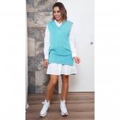 ☀️ N O V E D A D E S ☀️ ¿Buscas el look perfecto para disfrutar del finde? ¡¡Tenemos lo que buscas!! 🔝😍  ⏩ CHALECO OVER PENÉLOPE ▫️¡¡Super combinable!! ❤️ Como vestido o con leggins queda increíble ☑️ Disponible en la web www.almudenamoda.es 🖱️