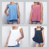 ☀️N O V E D A D E S ☀️ Un look con la blusa Clara  es un acierto seguro 😍 Es muy veraniega y, como véis, queda genial 💛 Precio: 9'99€. Talla única.  ❌ www.almudenamoda.es ❌ A lo largo del día iremos subiendo NOVEDADES a la web 🔝 ¡Estad atentas! ☑️🛍️  #AlmudenaModa #ModaMujer #ModaOnline #ModaLowCost #TuTiendaDeModa #TiendaOnline #Ubrique #Cádiz #Estilo #Lunes