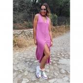 📣 N O V E D A D E S 📣 Cómo decíamos la NUEVA COLECCIÓN viene cargada de vestidos tan increíbles como éste 😍  1️⃣ VESTIDO VERO▫️ Talla única. Precio: 16'9€ 💛  2️⃣ DEPORTIVAS MULTICOLOR▫️Combinan a la perfección con el vestido Vero y con gran parte de las NOVEDADES 💥🤗 Precio: 21€  ⏩ Llévatelo a casa a través de nuestra web www.almudenamoda.es 🔝🛍️