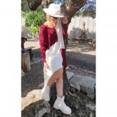 🍁 N O V E D A D E S 🍁   ❤️ MAXI JERSEY BICOLOR ❤️  ✨ Talla única. Precio: 13'50€ ✨  🛍️ Cómpralo aquí ⏬ www.almudenamoda.es ☑️  📍Paseo del Prado, 44 - Ubrique 📍 📞 615 941 690
